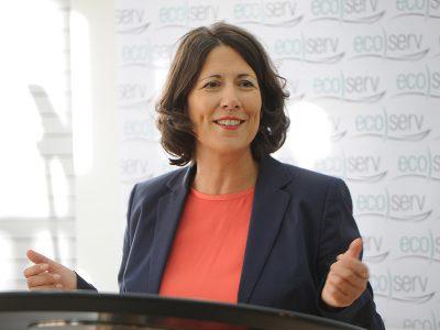 Ansprache von Daniela Schmitt zur Übergabe des Förderbescheids
